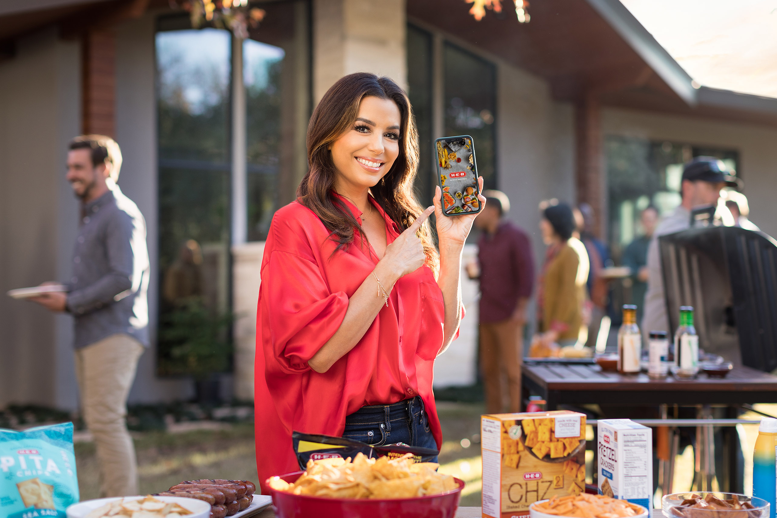 Eva Longoria Photographed by Jason Risner For HEB in Austin, Texas