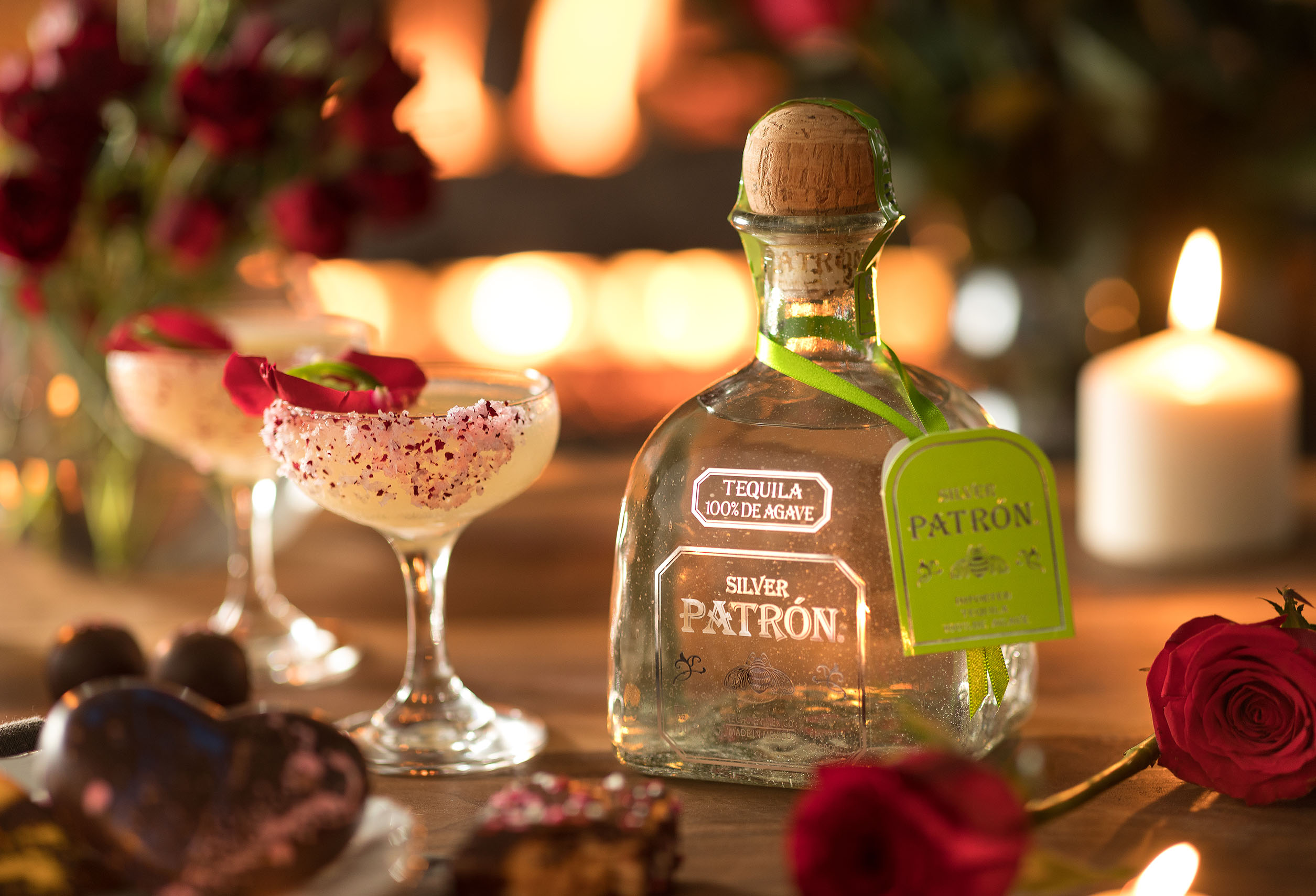 Cocktail with Patron Tequila Photographed by Styled Product Photographer Jason Risner