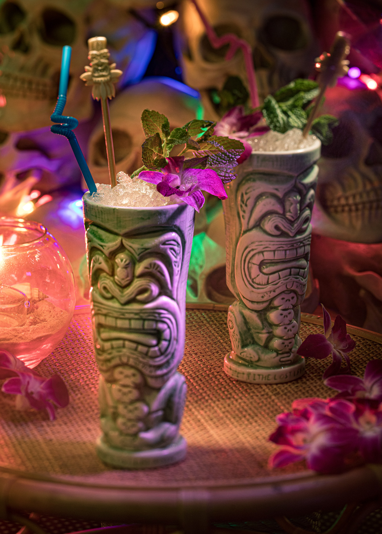 Cocktail Photo By Jason Risner at the Lost Lei Tiki Bar in Austin, Texas