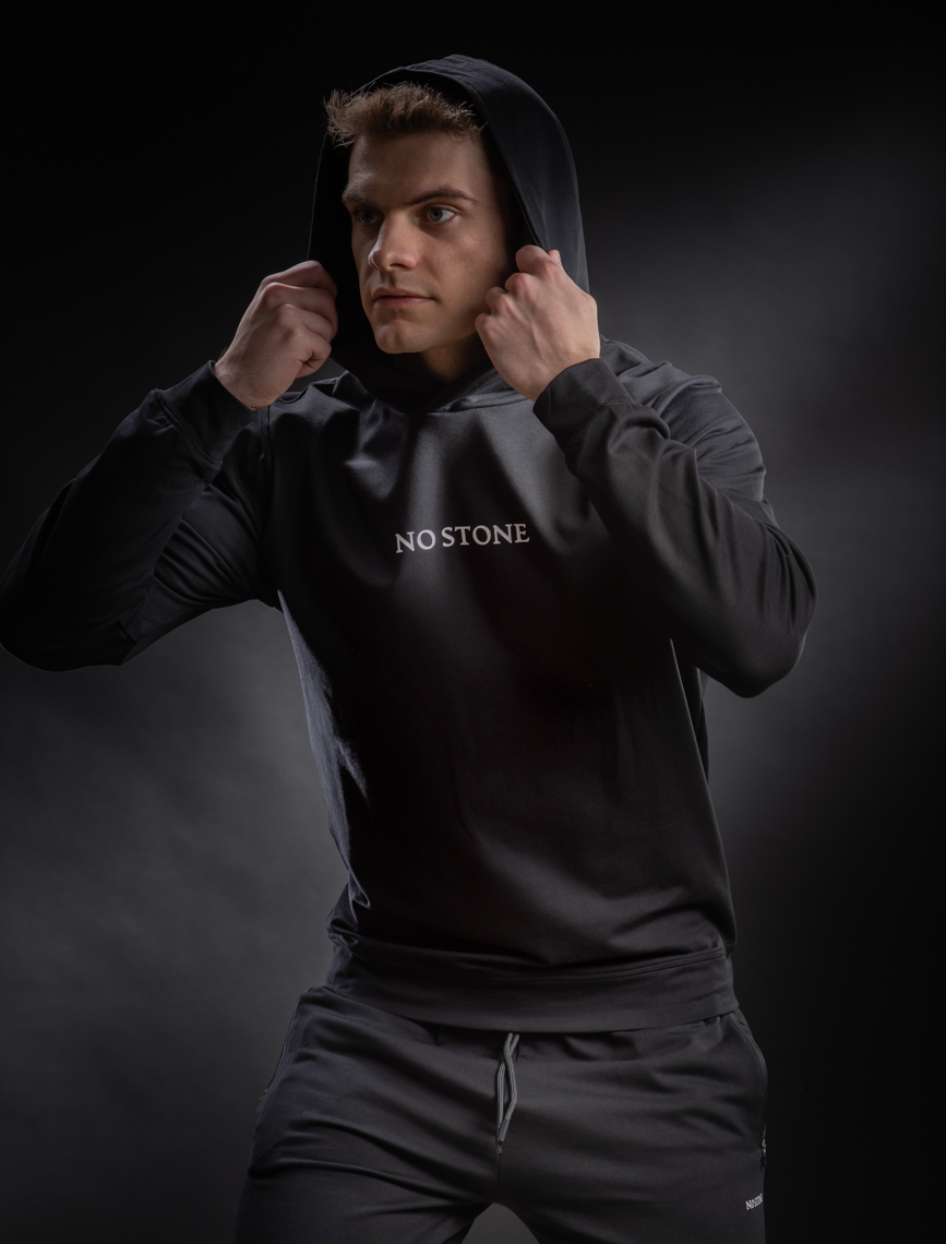no-stone-black-hoodie-product-jason-risner-photography